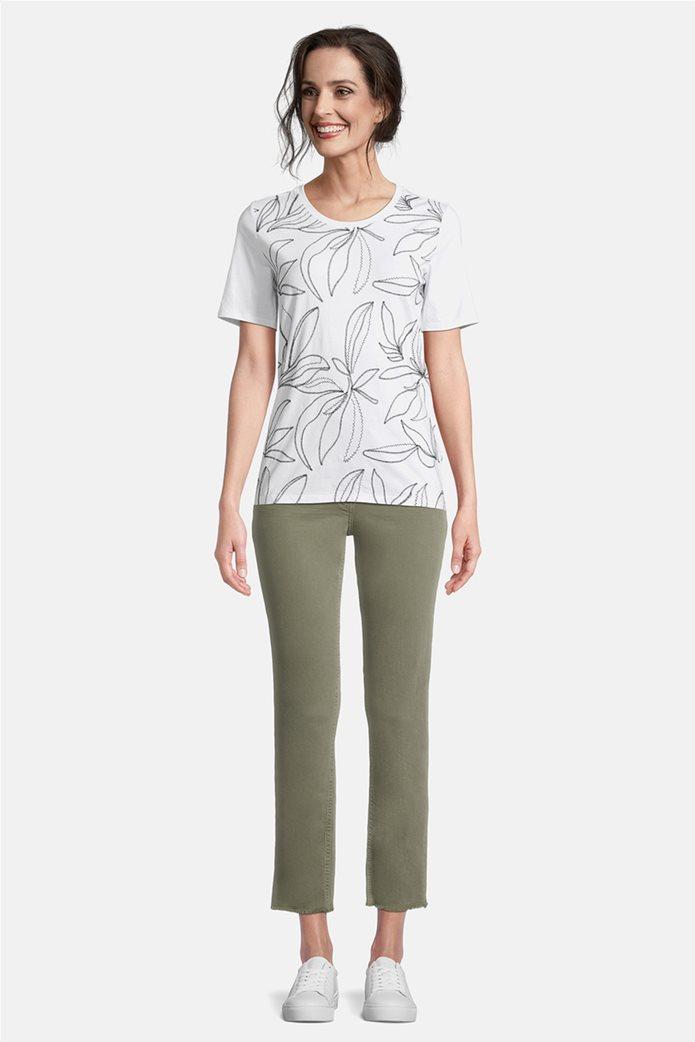 Betty Barclay γυναικεία μπλούζα με κεντημένο floral σχέδιο 1