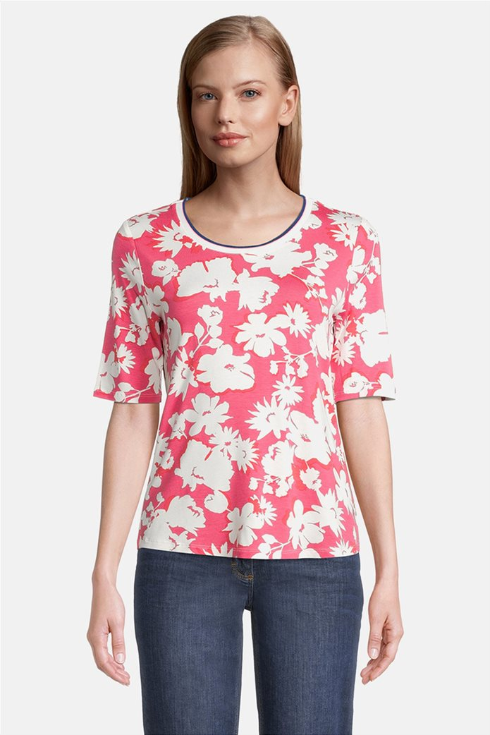 Betty Barclay γυναικεία μπλούζα με all-over floral print 0