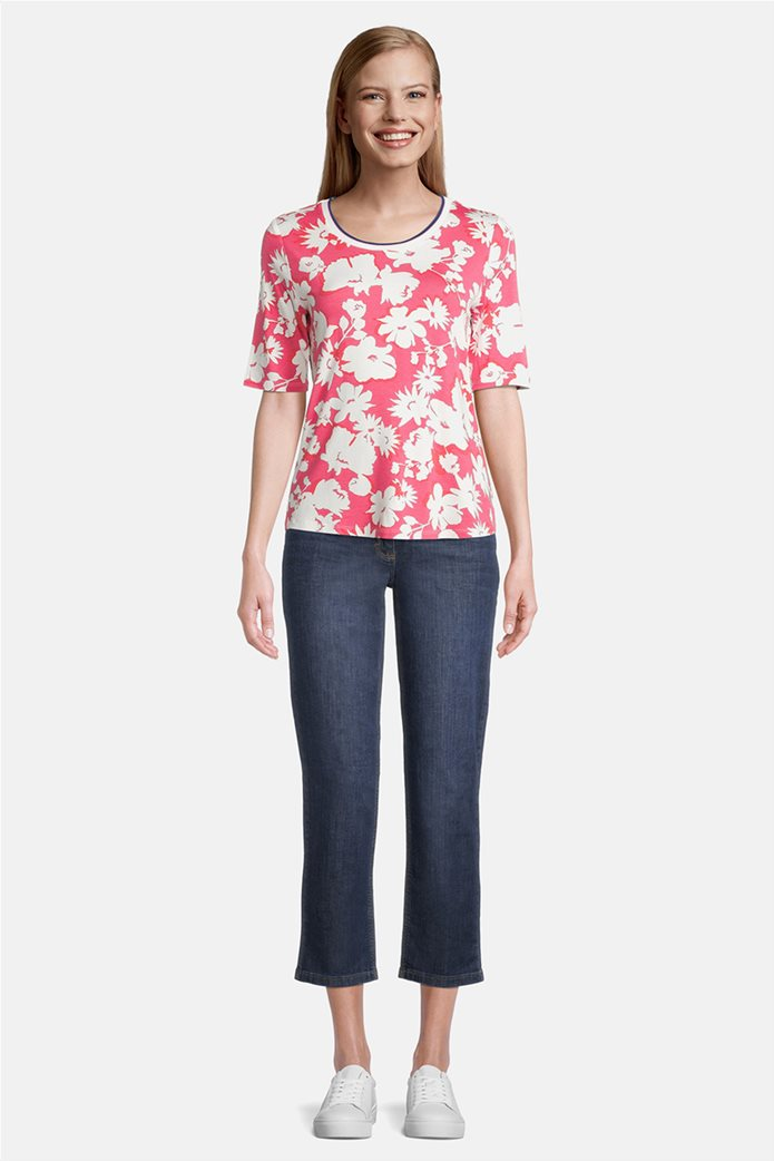 Betty Barclay γυναικεία μπλούζα με all-over floral print 1