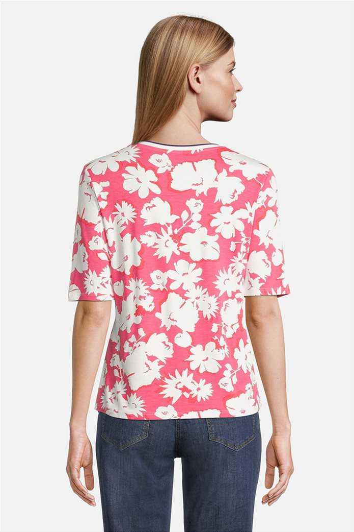 Betty Barclay γυναικεία μπλούζα με all-over floral print 2