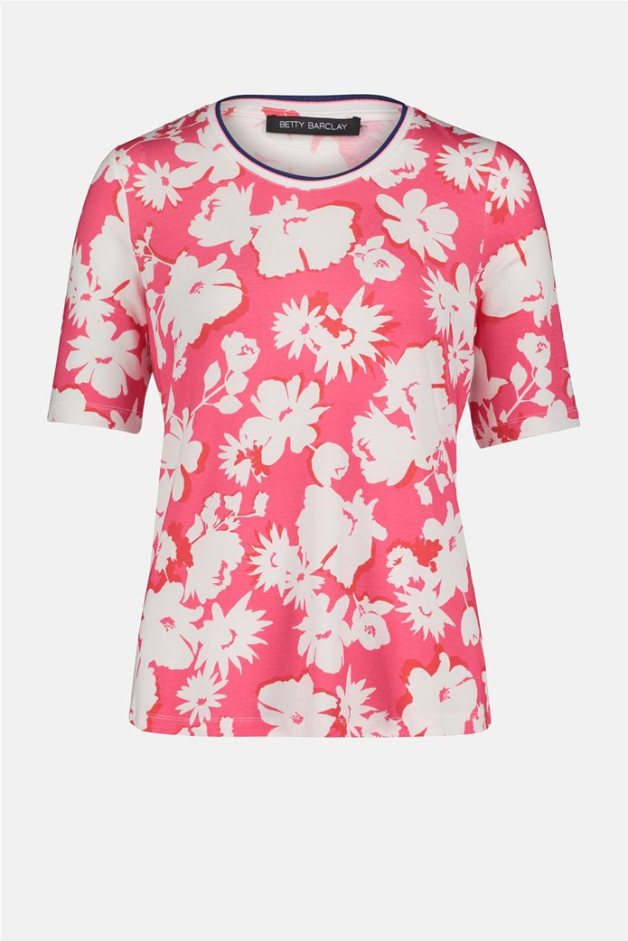 Betty Barclay γυναικεία μπλούζα με all-over floral print 3