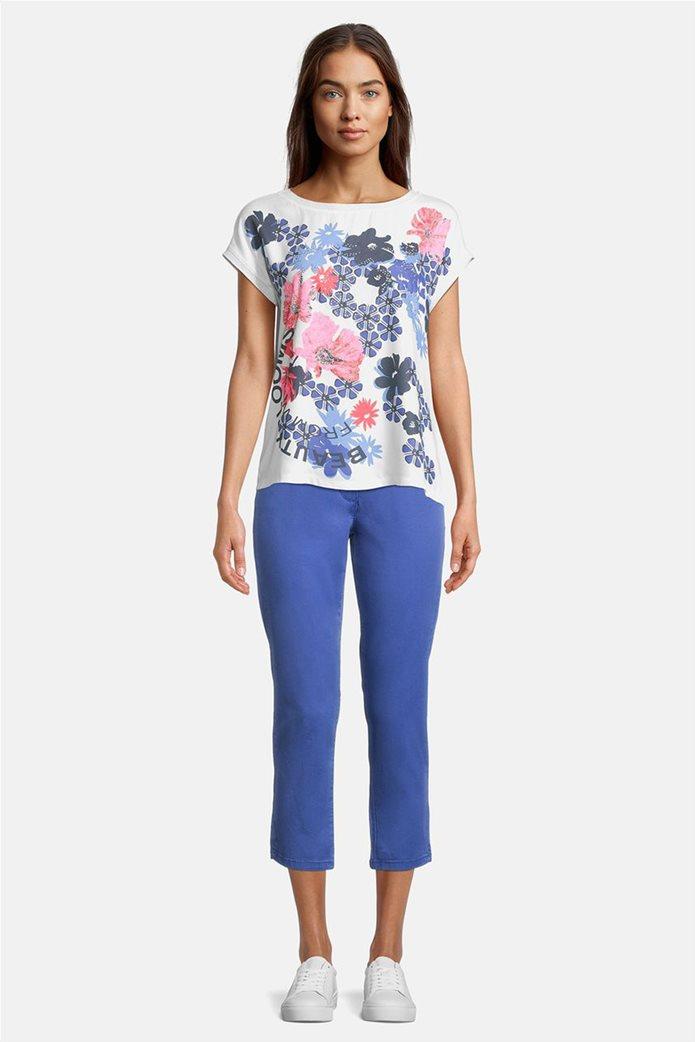 Betty Barclay γυναικεία μπλούζα με floral σχέδιο και τρουκς 1