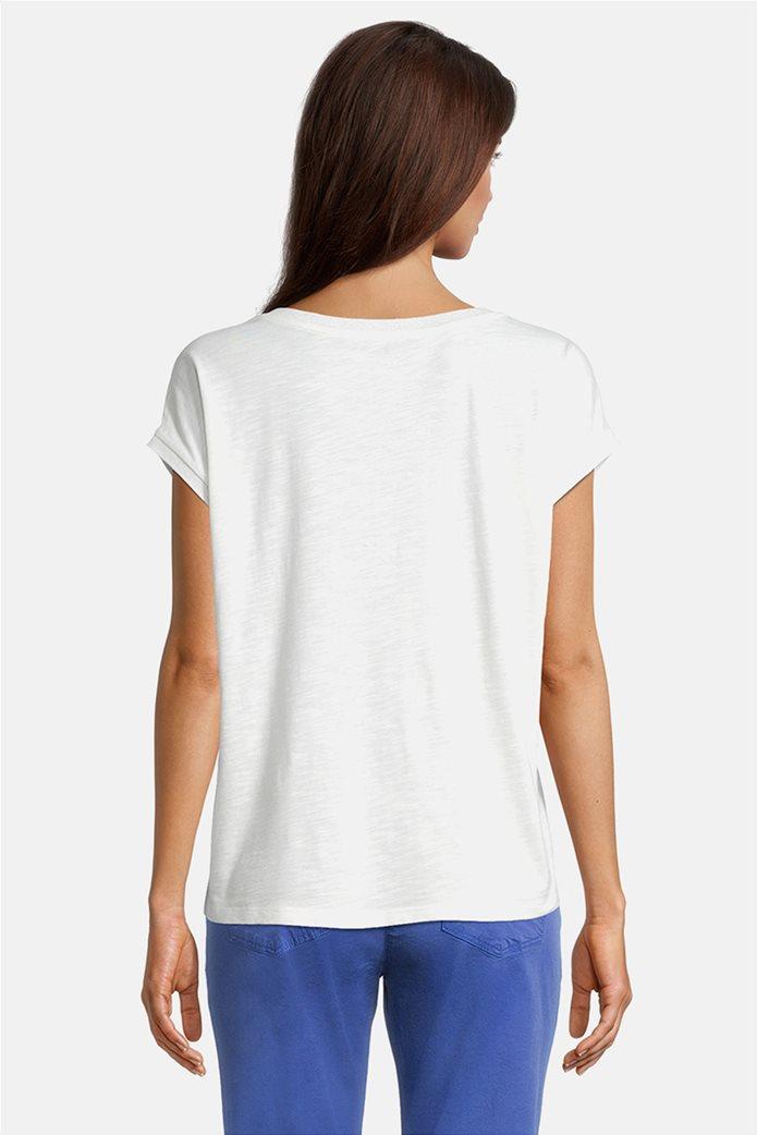 Betty Barclay γυναικεία μπλούζα με floral σχέδιο και τρουκς 2
