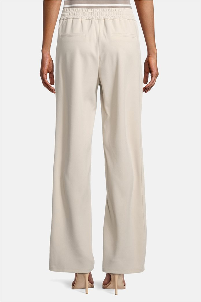 Betty Barclay γυναικείο παντελόνι με ελαστική μέση και κορδόνι 2