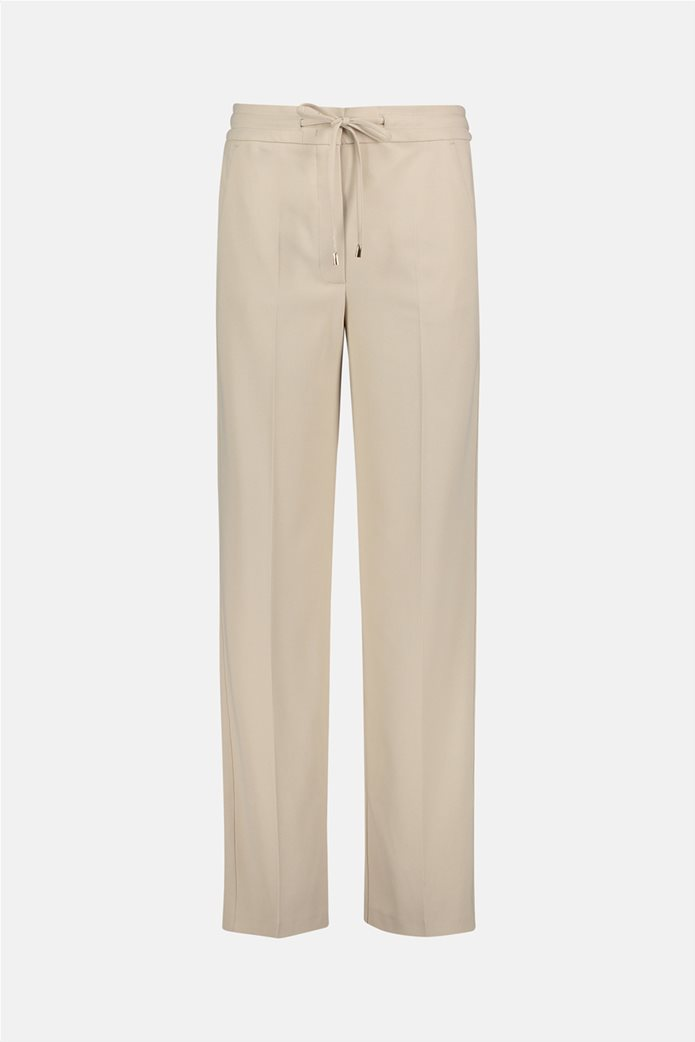 Betty Barclay γυναικείο παντελόνι με ελαστική μέση και κορδόνι 3