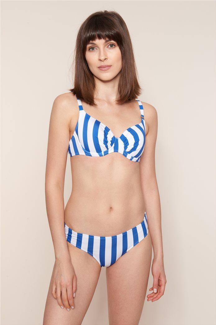 """Rösch γυναικείο σετ μαγιό μπικίνι """"Maritime Stripes"""" C Cup Μπλε 1"""