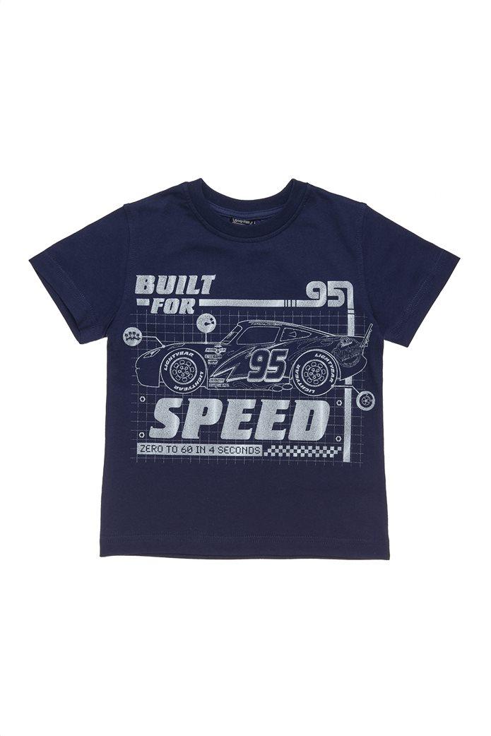 Alouette παιδικό T-shirt Disney Cars με τύπωμα (2-8 ετών) 0