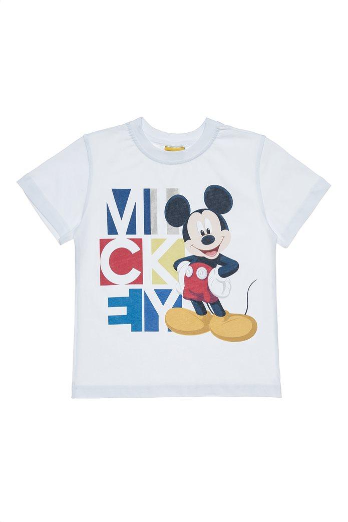 Alouette παιδικό T-shirt με print Disney Mickey Mouse 90 years  (2-5 ετών) 0