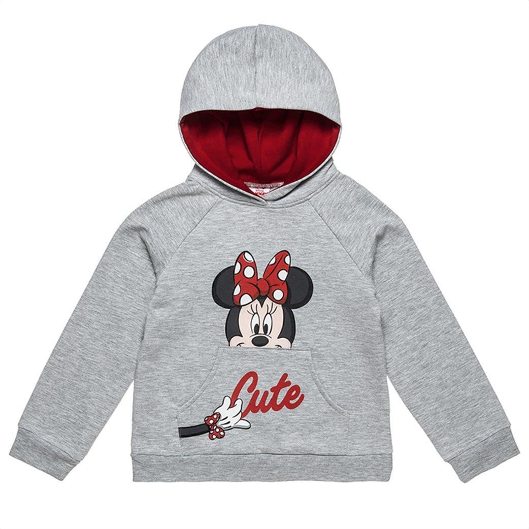 """Alouette παιδικό σετ ρούχων μπλούζα με κουκούλα και κολάν """"Minnie Mouse"""" (2-8 ετών) 1"""