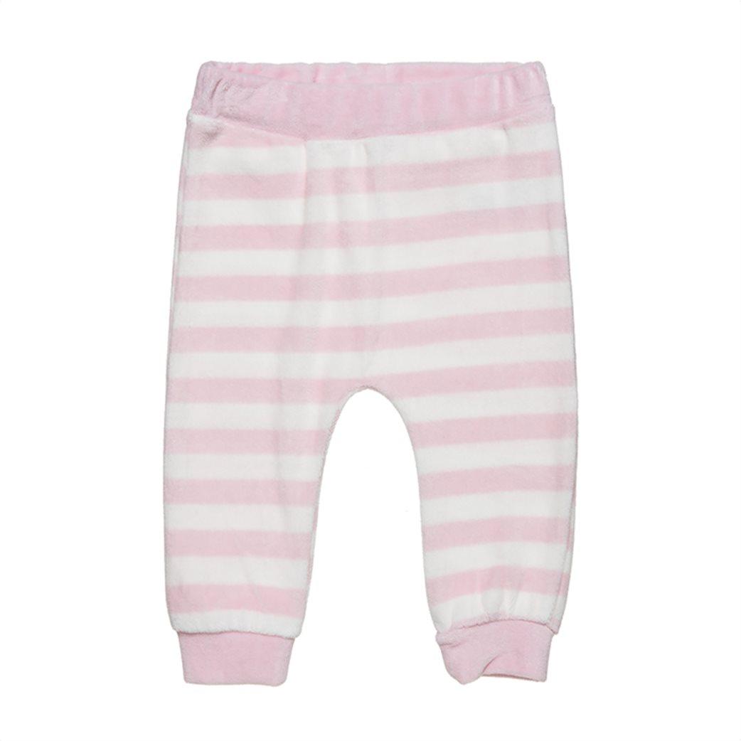 Alouette βρεφικό σετ ρούχων μπλούζα με Bambi print και παντελόνι ριγέ (3-18 μηνών) Ροζ 3