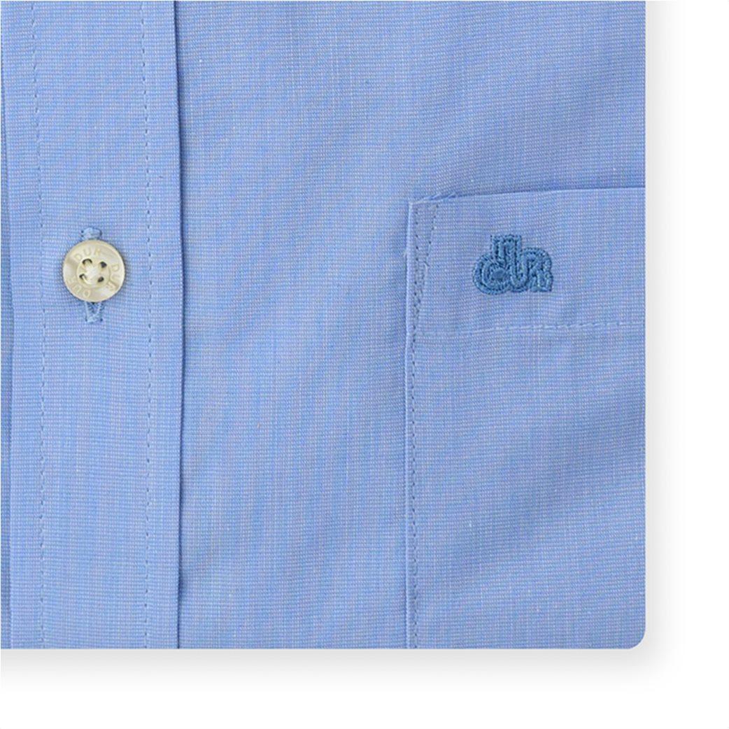Dur ανδρικό πουκάμισο ύφανσης 'fil a fil' Γαλάζιο 2