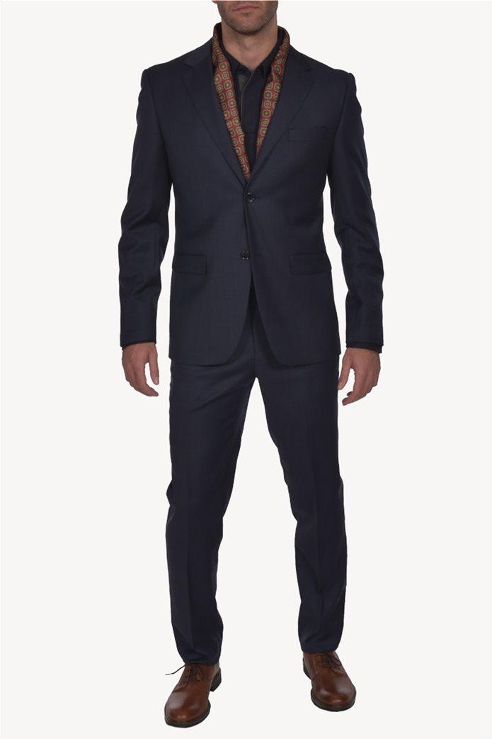 Dur ανδρικό μάλλινο κοστούμι μελανζέ 0