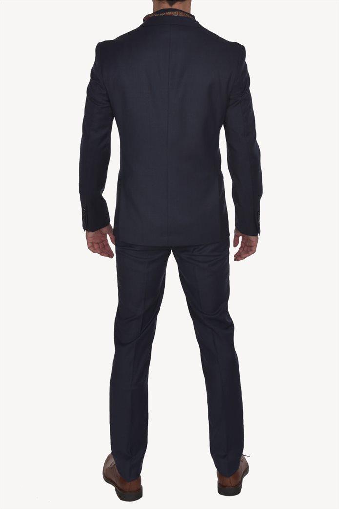 Dur ανδρικό μάλλινο κοστούμι μελανζέ 1
