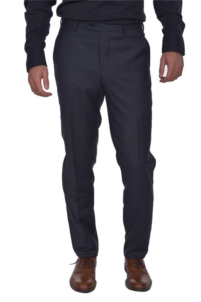 Dur ανδρικό μάλλινο κοστούμι μελανζέ 3