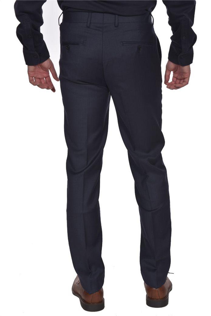 Dur ανδρικό μάλλινο κοστούμι μελανζέ 4