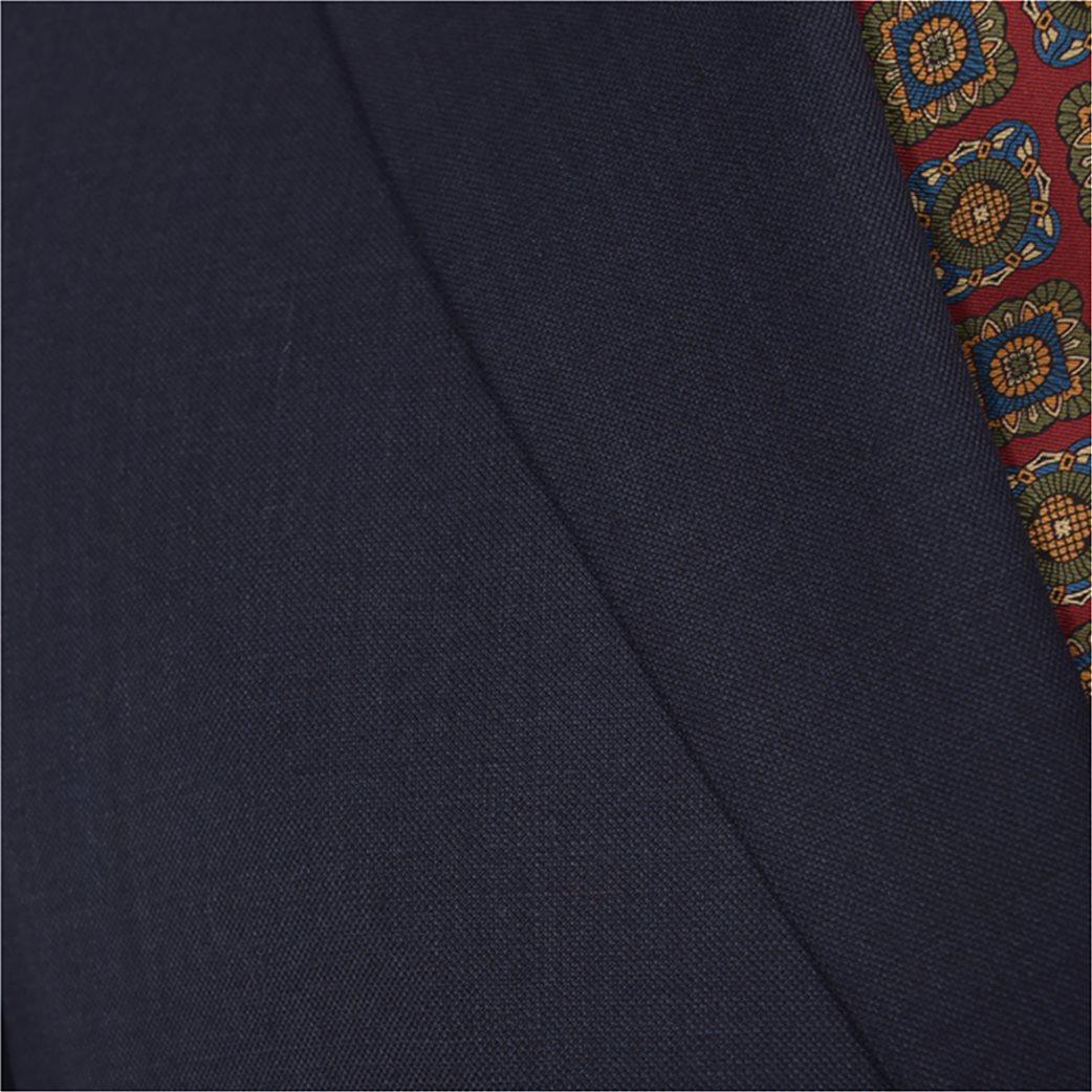 Dur ανδρικό μάλλινο κοστούμι μελανζέ 6