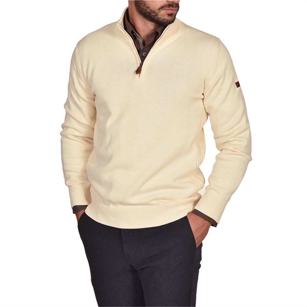 Dur ανδρική πλεκτή μπλούζα με φερμουάρ 1