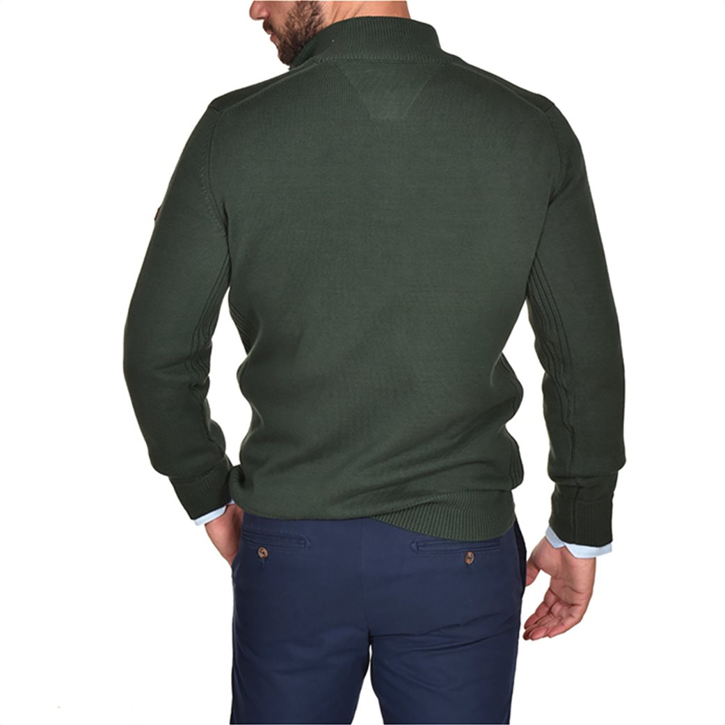 Dur ανδρική πλεκτή μπλούζα με φερμουάρ 2