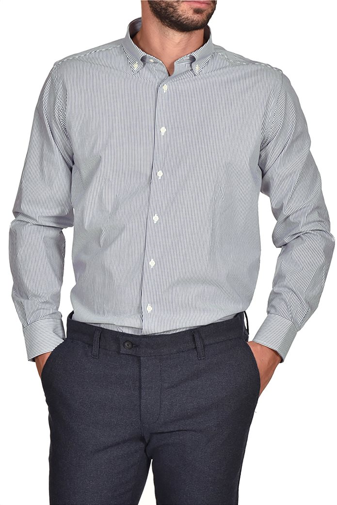 Dur ανδρικό ριγέ πουκάμισο Slim fit 0