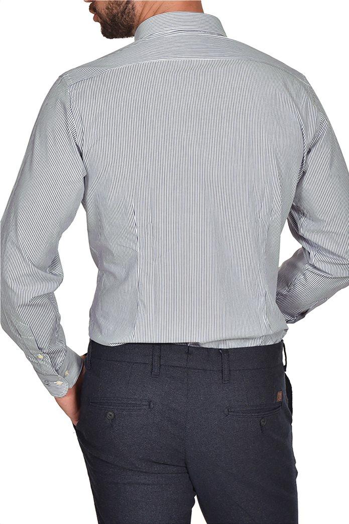 Dur ανδρικό ριγέ πουκάμισο Slim fit 1