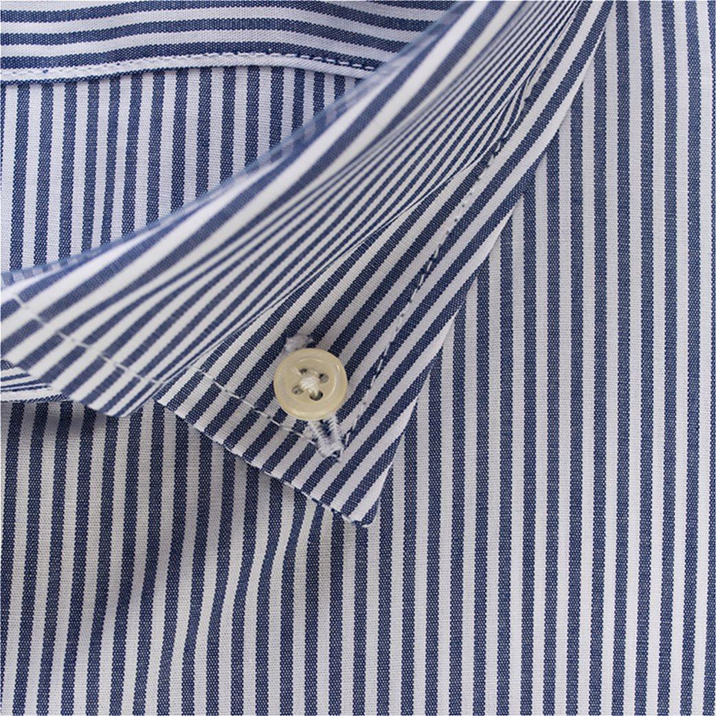 Dur ανδρικό ριγέ πουκάμισο Slim fit 2