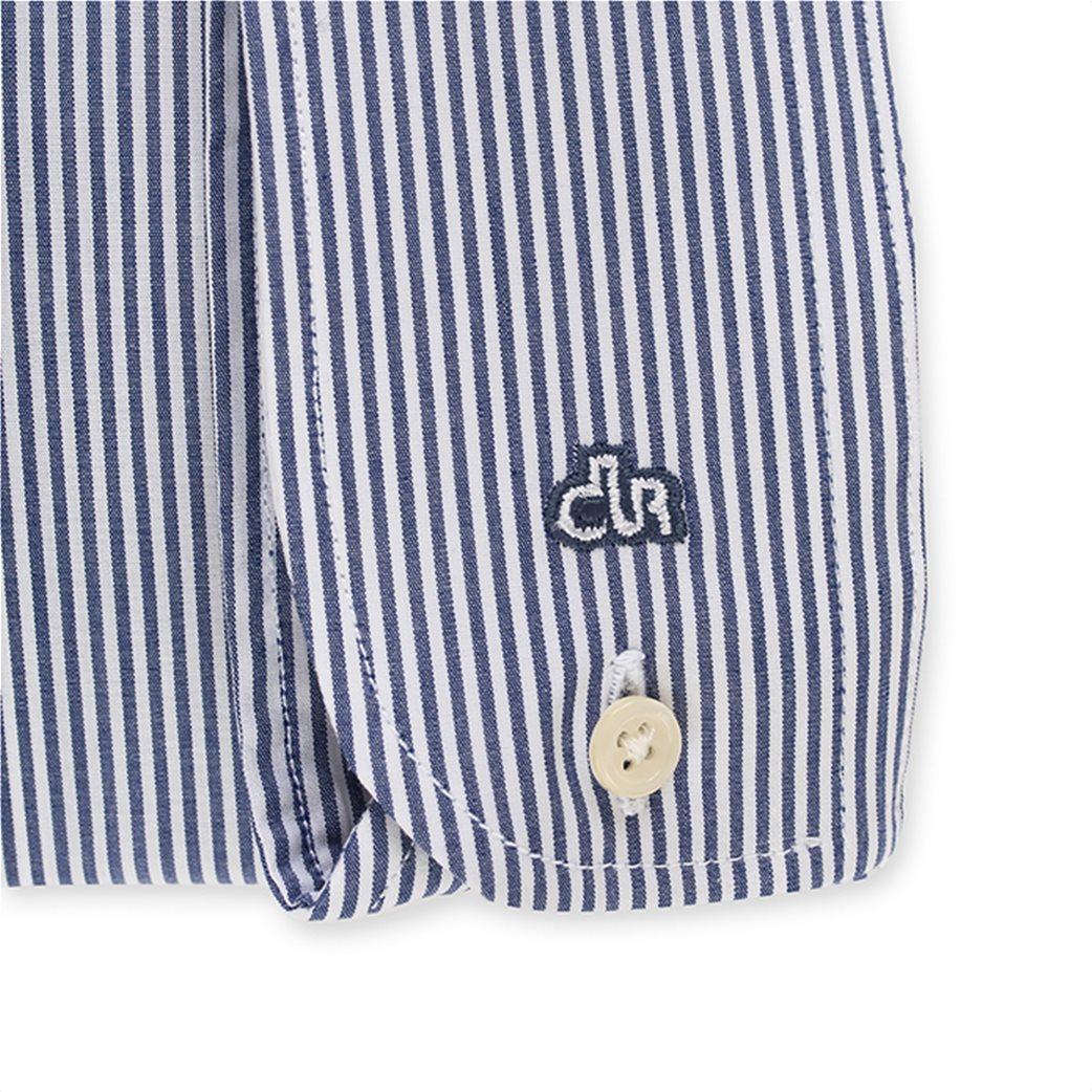 Dur ανδρικό ριγέ πουκάμισο Slim fit 3