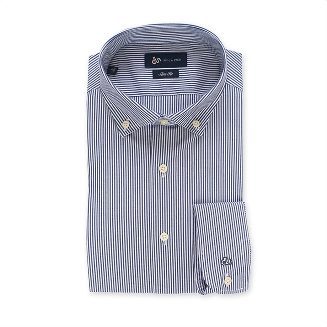 Dur ανδρικό ριγέ πουκάμισο Slim fit 4