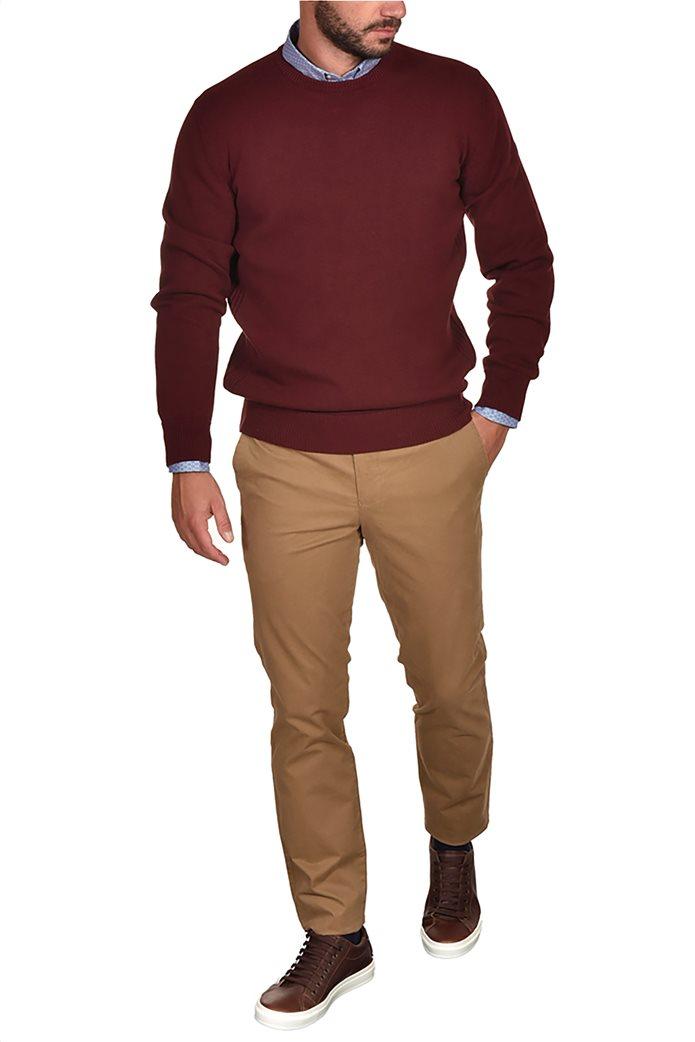 Dur ανδρική πλεκτή μπλούζα με στρογγυλή λαιμόκοψη 0