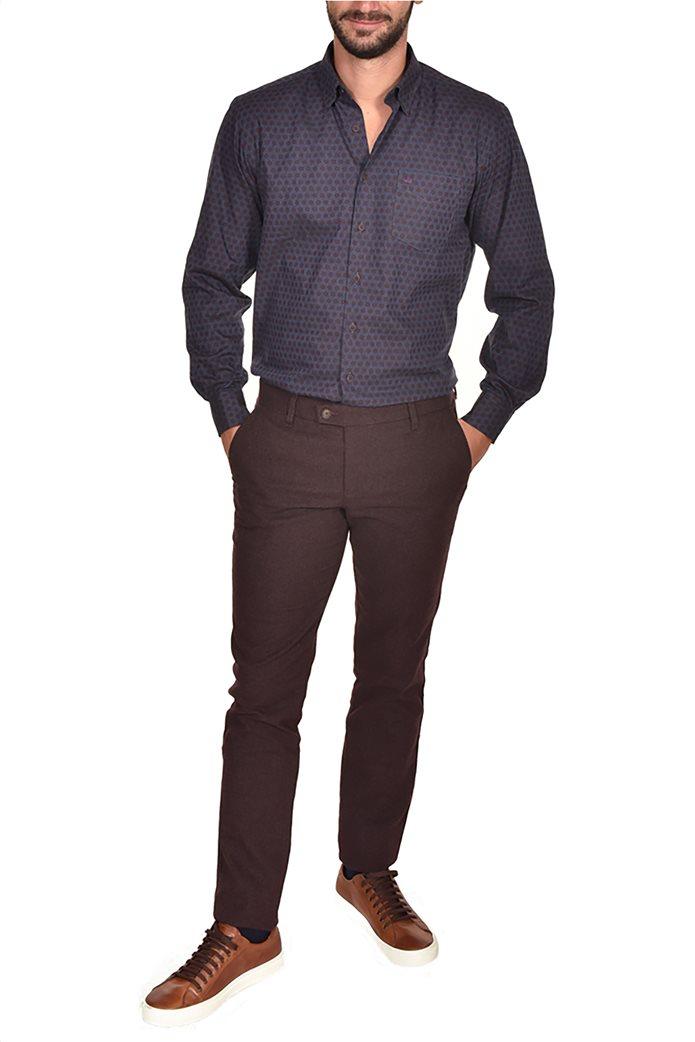 Dur ανδρικό chino παντελόνι μελανζέ Regular fit 0
