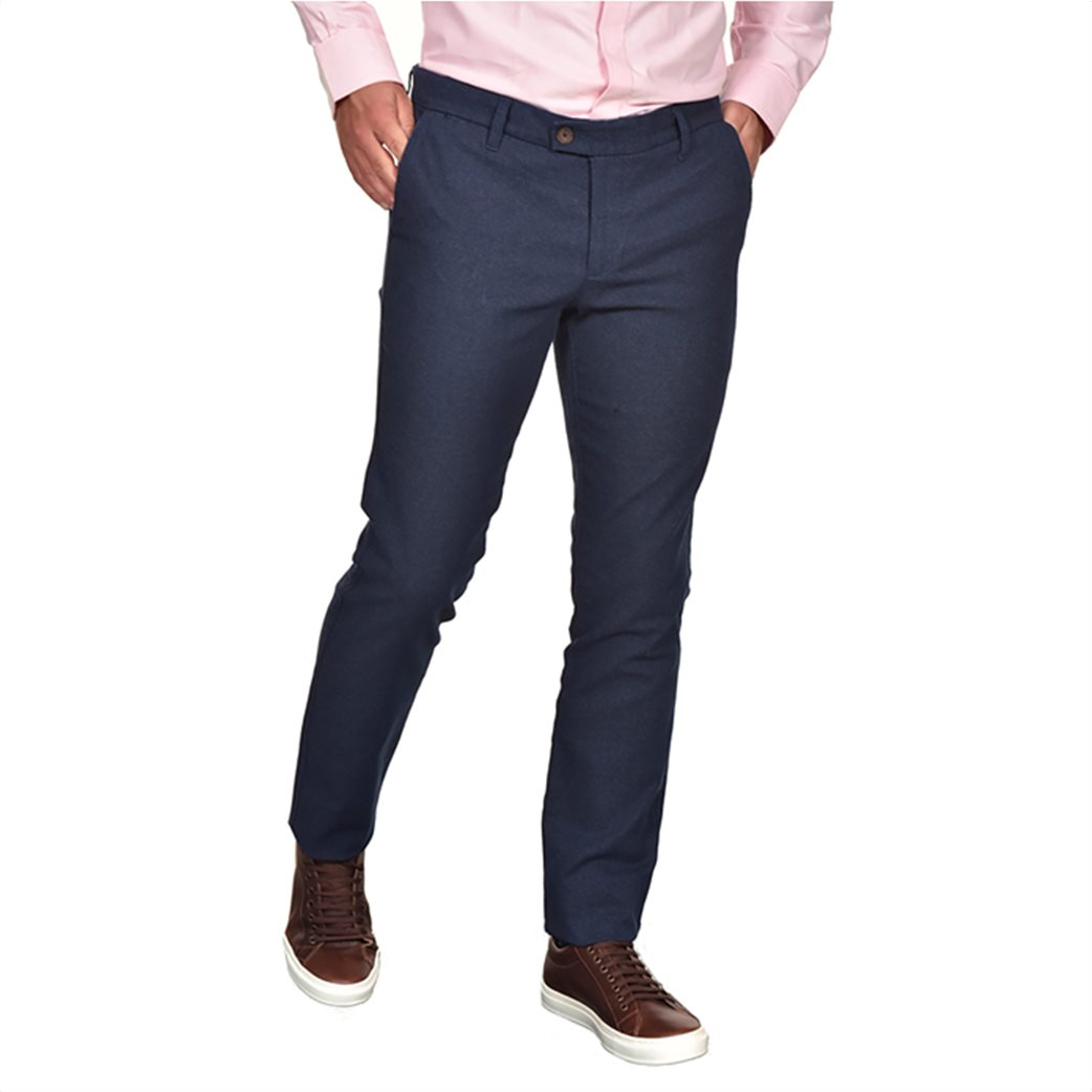 Dur ανδρικό chino παντελόνι μελανζέ Regular fit 1