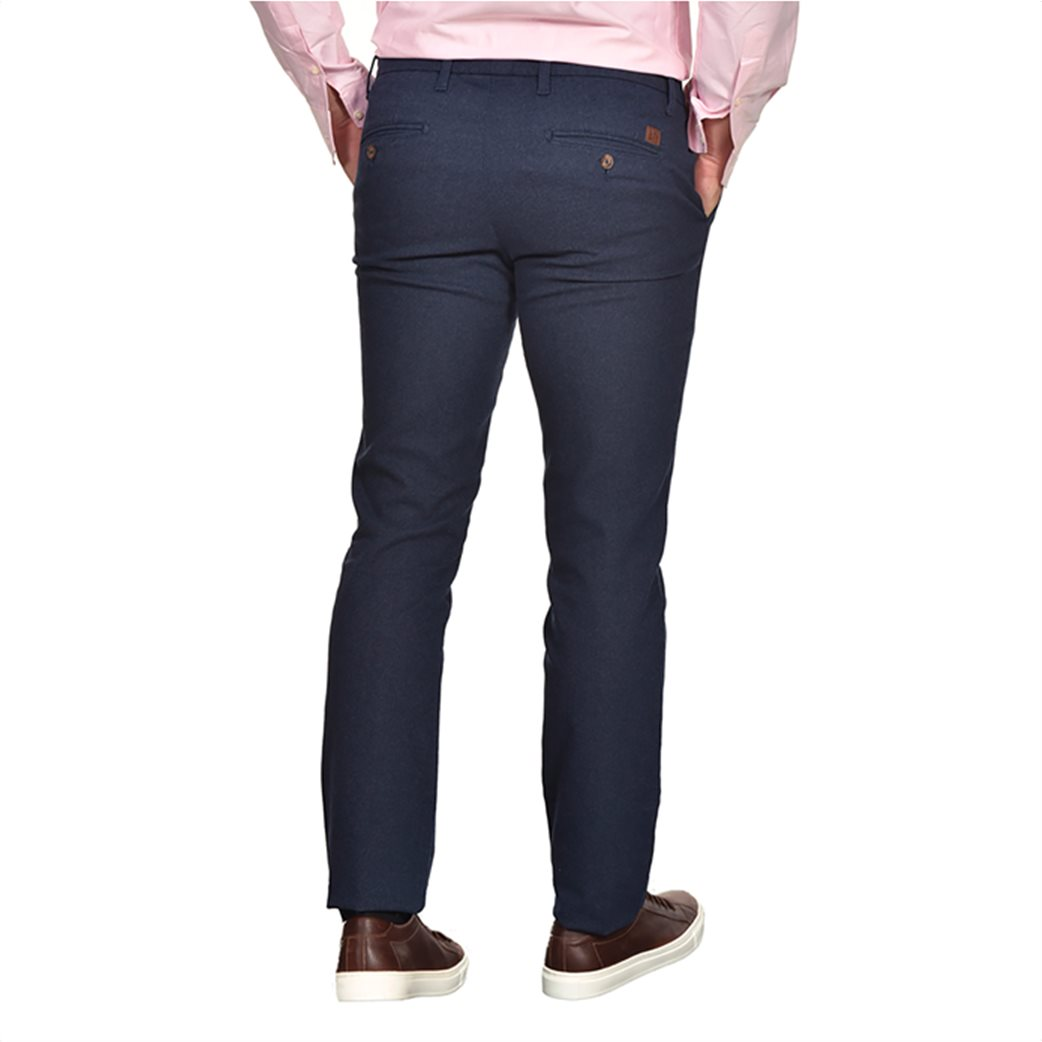 Dur ανδρικό chino παντελόνι μελανζέ Regular fit 2