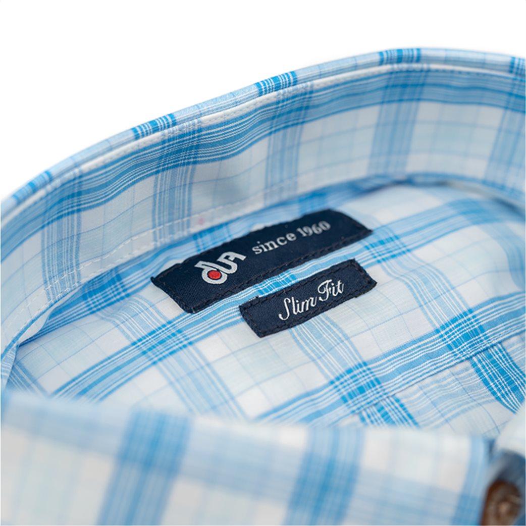 Dur ανδρικό πουκάμισο με καρό σχέδιο 2