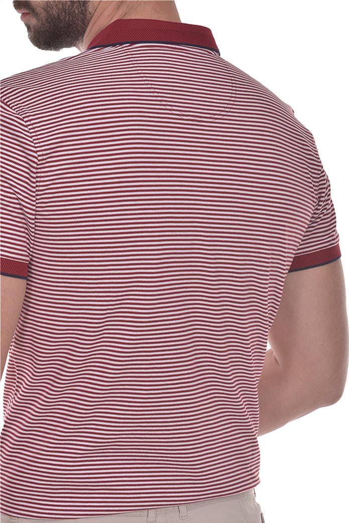 Dur ανδρική πόλο μπλούζα ριγέ 1