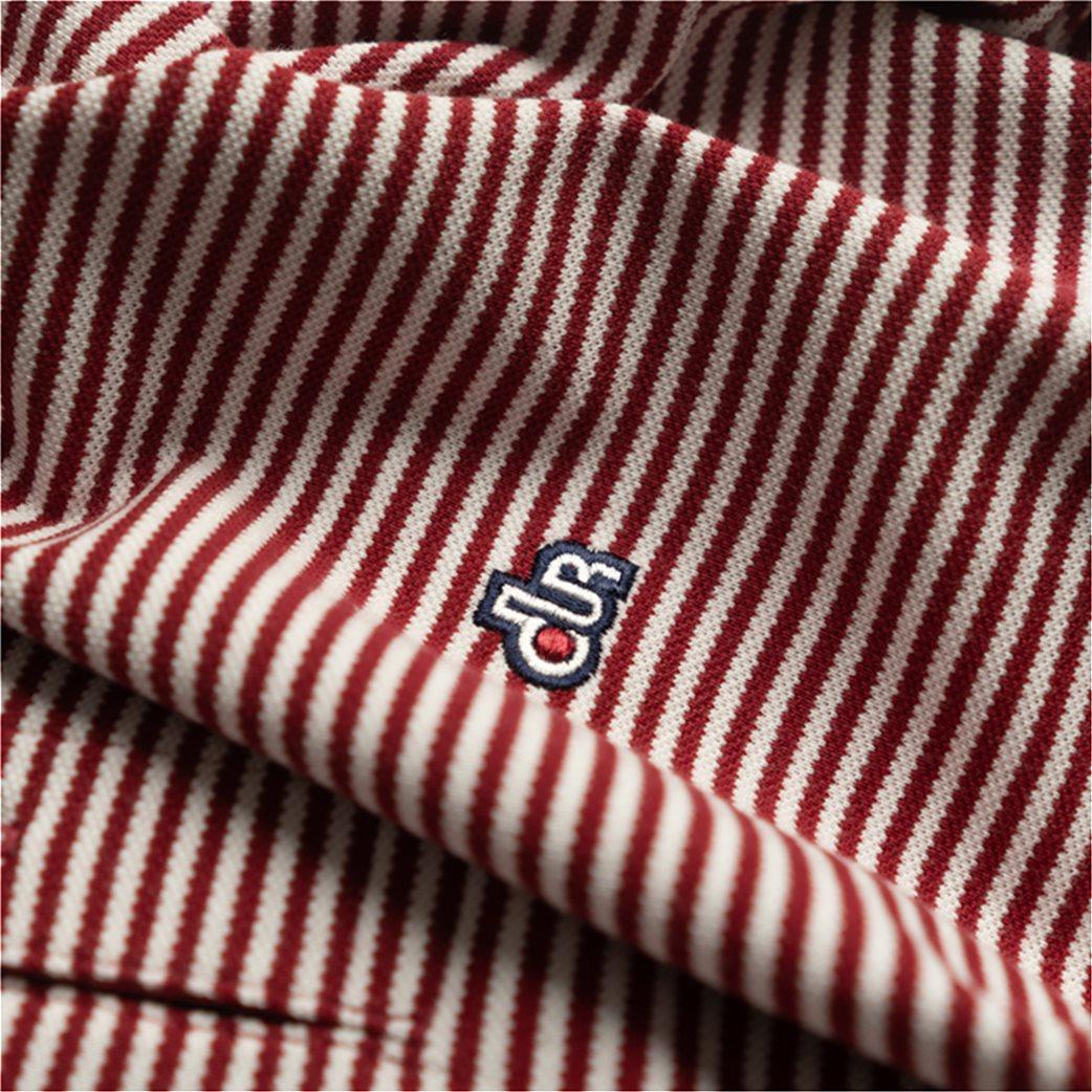 Dur ανδρική πόλο μπλούζα ριγέ 5