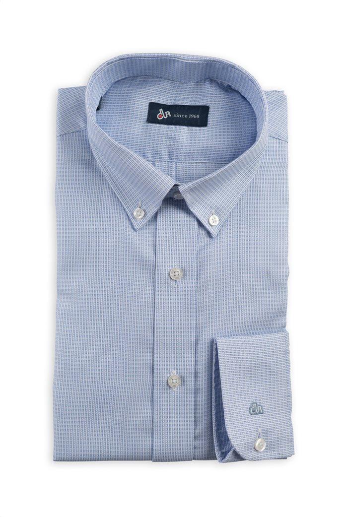 Dur ανδρικό πουκάμισο button down με μικροσχέδιο 0