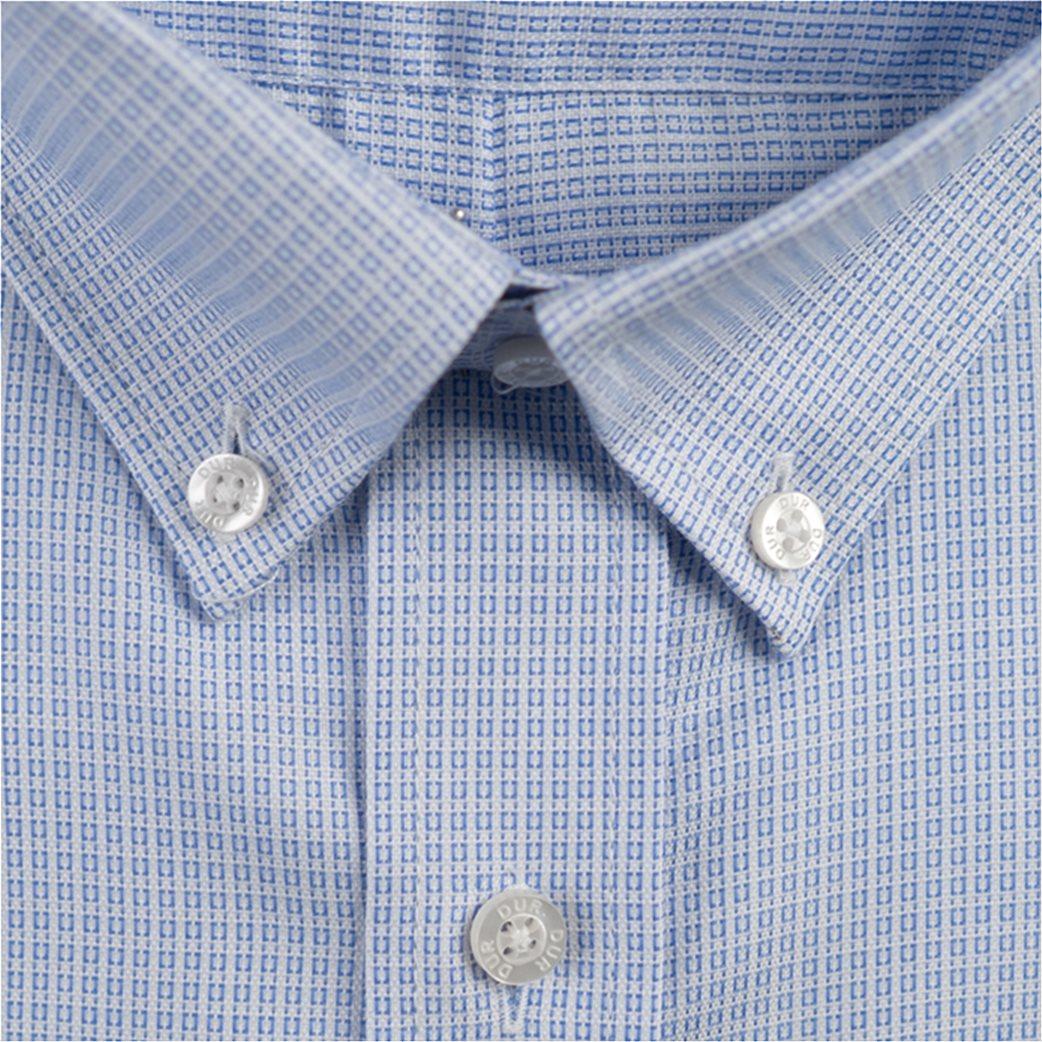 Dur ανδρικό πουκάμισο button down με μικροσχέδιο 1