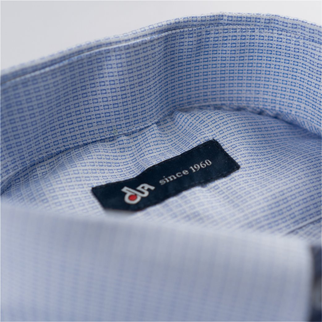 Dur ανδρικό πουκάμισο button down με μικροσχέδιο 2