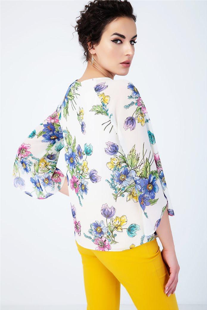 Billy Sabbado γυναικεία μπλούζα με floral print 1
