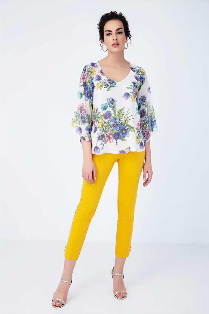 Billy Sabbado γυναικεία μπλούζα με floral print 2