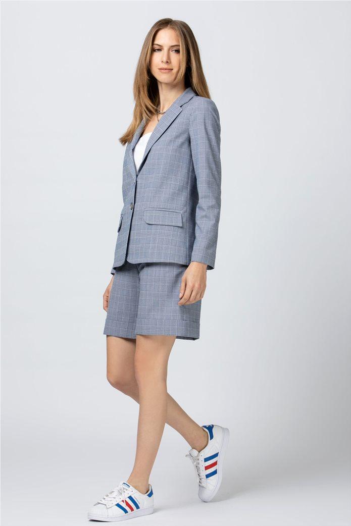 Billy Sabbado γυναικείο σακάκι με flap τσέπες Μπλε Σκούρο 1