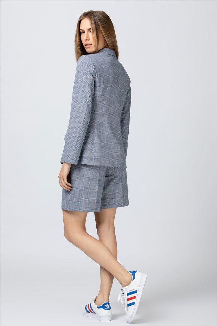 Billy Sabbado γυναικείο σακάκι με flap τσέπες Μπλε Σκούρο 2