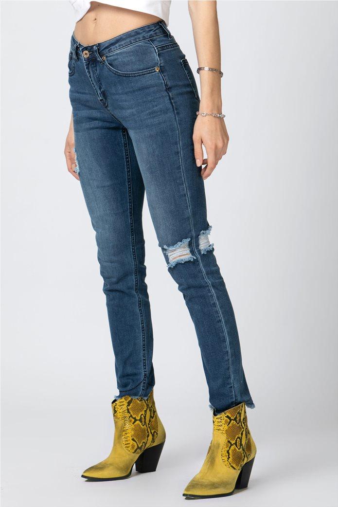 Billy Sabbado γυναικείο τζην παντελόνι φθαρμένο 2