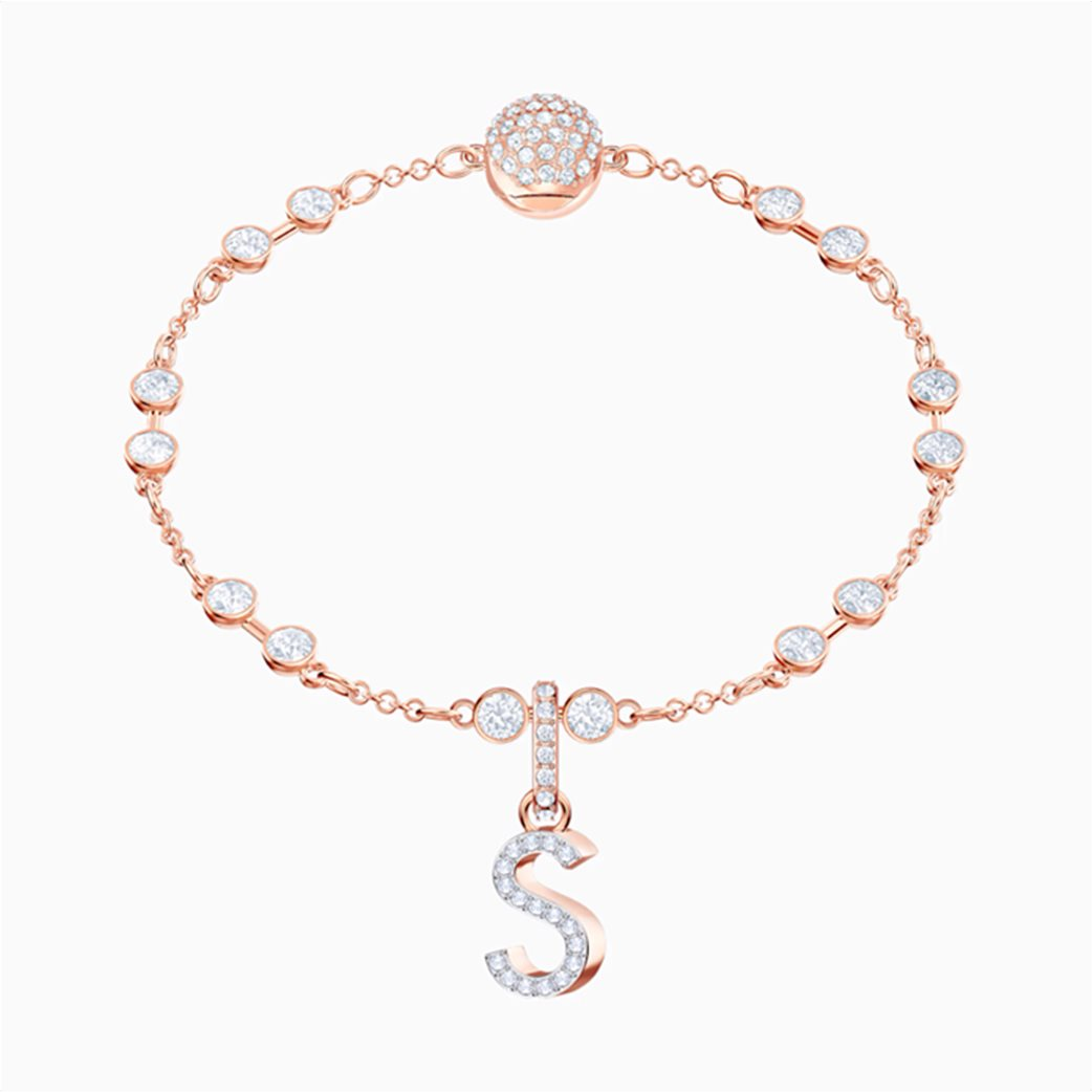 Swarovski Remix Collection Charm S, White, Rose-gold tone plated 1
