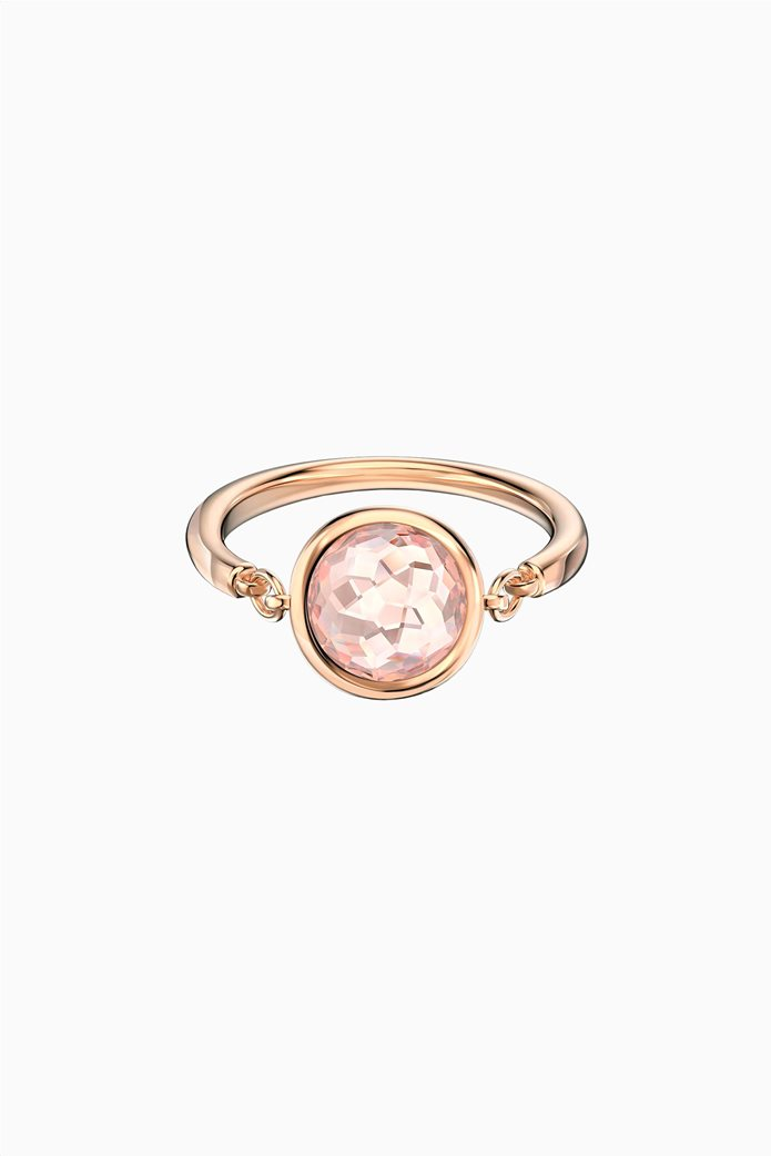 Swarovski Tahlia Ring, Pink, Rose-gold tone plated 0