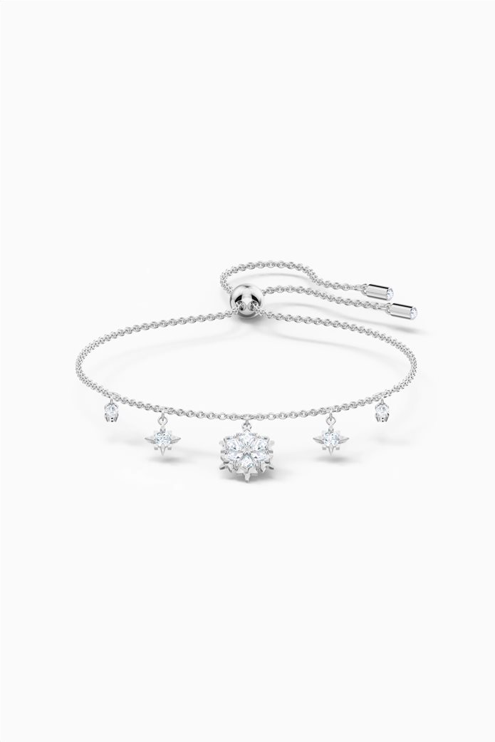 Swarovski Magic Bracelet, White, Rhodium plated 0