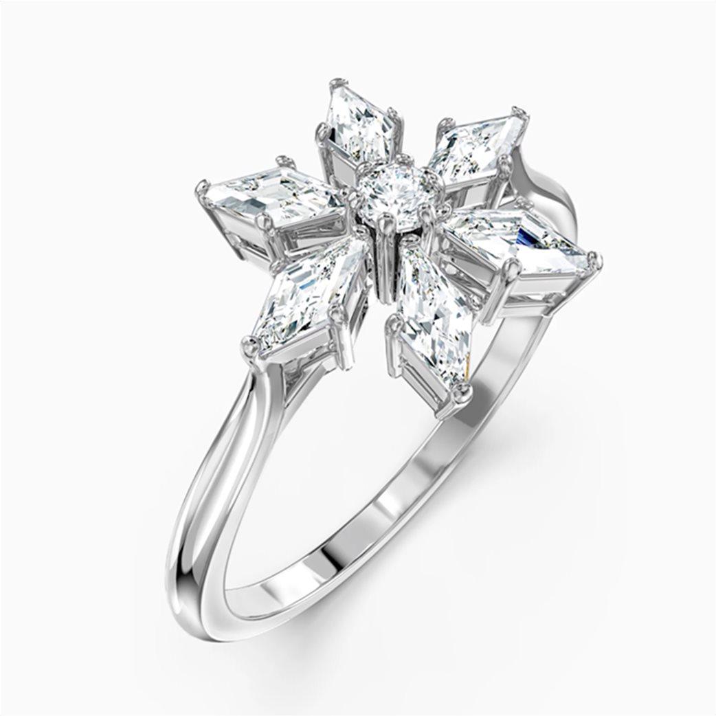 Swarovski Magic Ring, White, Rhodium plated 2
