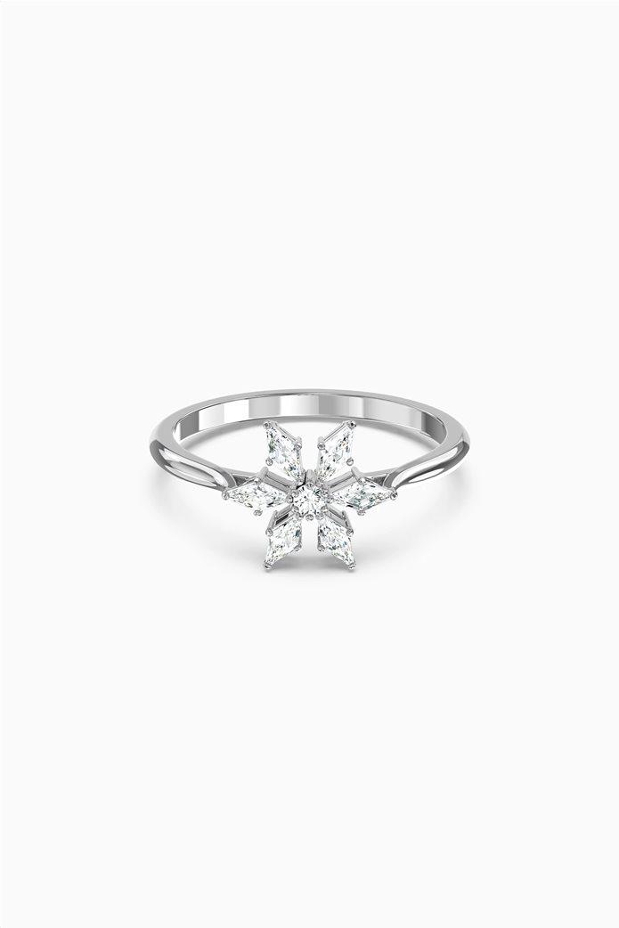 Swarovski Magic Ring, White, Rhodium plated 0