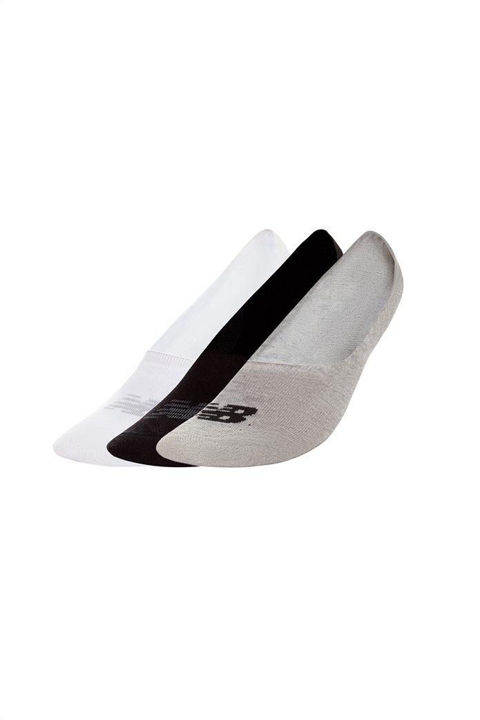 New Balance σετ unisex κοντές κάλτσες (3 τεμάχια) Λευκό 0