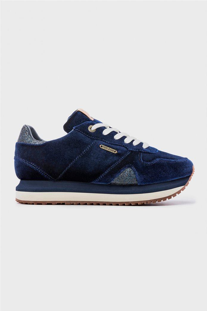 Pepe Jeans γυναικεία παπούτσια trainers Zion Velvet 0