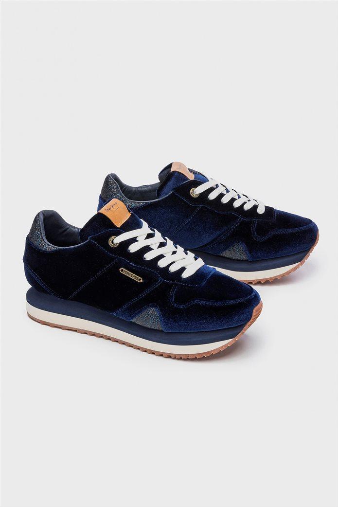 Pepe Jeans γυναικεία παπούτσια trainers Zion Velvet 1